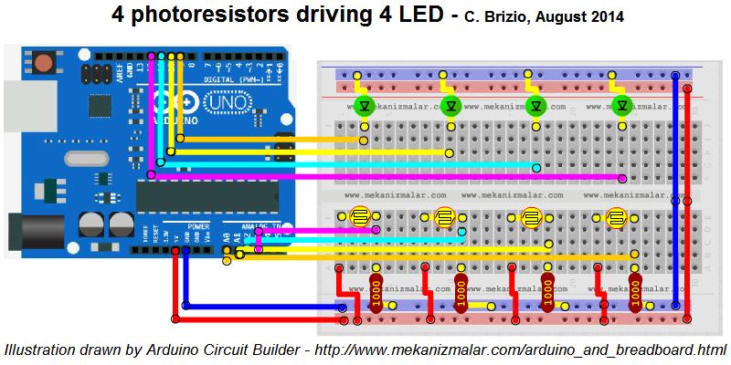 Circuit Builders Arduino - Enthusiast Wiring Diagrams •